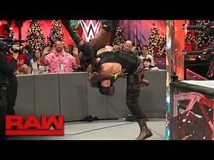Braun Strowman lays waste to Sin Cara and Titus O'Neil: Raw, Dec. 19, 2016