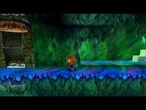 Crash Bandicoot 2 - 100% Gameplay, Level 18 Cold Hard Crash