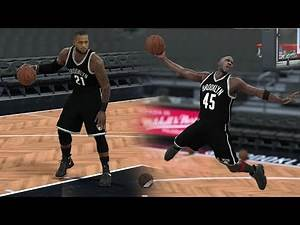 WHAT IF LEBRON JAMES AND MICHAEL JORDAN PLAYED FOR THE NETS? NBA 2K17 GAMEPLAY!