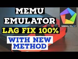 memu emulator lag fix and improve performance pubg mobile lite & other games With new method
