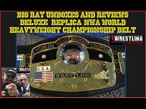 UNBOXING AND REVIEW OF THE DELUXE NWA WORLD HEAVYW