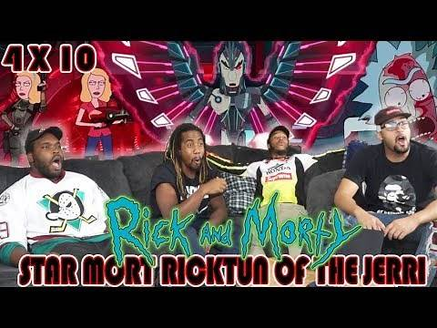 """Rick And Morty 4 x 10 """"Star Mort Rickturn Of The Jerri"""" Reaction/Review"""