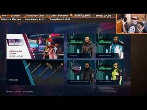 🔴 WWE 2K20 Empire of Tomorrow DLC Feature Showcase: A Glitch in the System (Full)