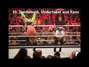 Top 50 WWE Finishers