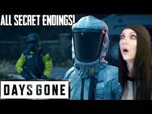 DAYS GONE - ALL SECRET ENDINGS REVEALED!