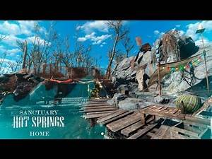 Fallout 4 Mods Sanctuary Hot Springs Home & Settlement (PS4 Mods)