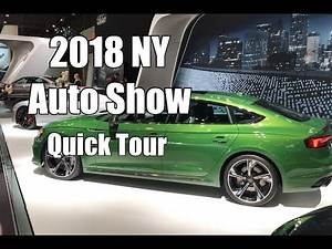 Vlog 31: 2018 NY International Auto Show Highlights