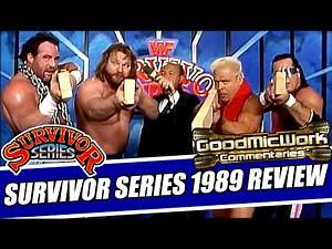 WWE Survivor Series 1989 Review | Hulk Hogan, Zeus, The Ultimate Warrior, and MORE!
