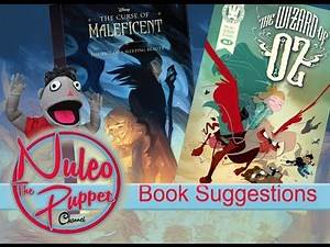 Comic book The Wonderful Wizard of Oz and The Curse of Maleficent - Nuleo The Puppet Channel