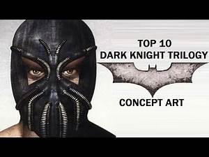 Top 10 Dark Knight Trilogy Concept Art