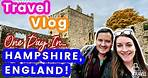 HAMPSHIRE, ENGLAND ROAD TRIP ◆ UK TRAVEL VLOG ◆ WINCHESTER, PORTCHESTER CASTLE, & SOUTH DOWNS!