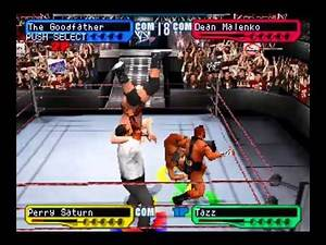 WWF SmackDown! 2: Know Your Role PS1 1080P Royal Rumble Edge Win
