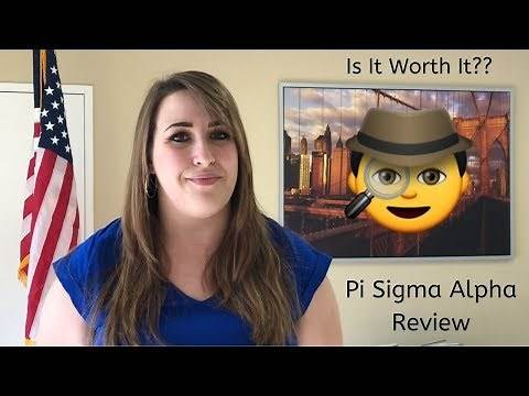 Pi Sigma Alpha Requirements and Review. Worth It? Legit??