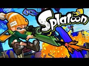 Splatoon Wii U Splat Charger! Update News Spyke Online Gameplay Walkthrough PART 3 Nintendo HD 60fps