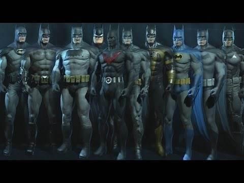 All Batman Arkham Origins Skins/Costumes/Suits [XBOX 360] [PS3]
