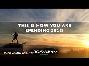 Best of 2016 so far - 1 Second Everyday Crowd
