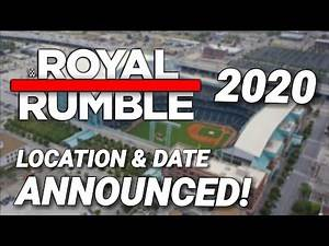 WWE Royal Rumble 2020 Location & Date Announced!