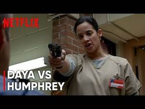 Orange Is The New Black - Daya threatens Humphrey | 4x13 (4K)
