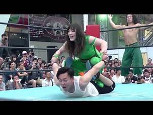 3rd Match of Japan Expo Thailand 2016 Day2 Emi Sakura & Takanashi Masahiro vs Riho & Wayu
