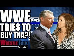 WWE Tries To Buy TNA! How Much Is It Worth?! | WrestleTalk News