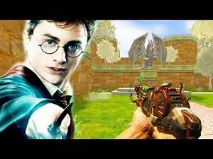 Harry Potter Easter Egg!   Hogwarts Zombies Map ENDING!   Call of Duty Zombies