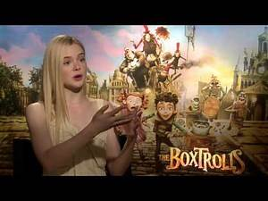 Elle Fanning Interview: The Boxtrolls
