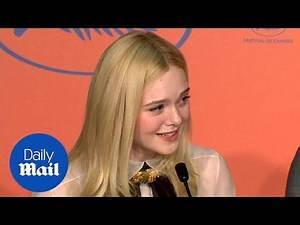 Elle Fanning defends Cannes panel position during Q&A session