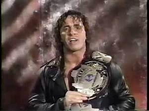 WWF Champion Bret Hart Promo [1992-11-08]