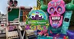 Alton Towers Mardi Gras 2021 Construction Update | EPIC Props & Food Trucks!