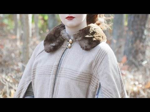 How to Make a Winter Cape!