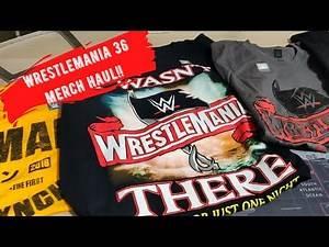 WrestleMania 36 WWE Shop Merchandise Unboxing Haul!!!
