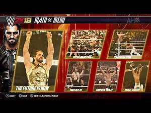 WWE 2K18 Concept - 2K Showcase Featuring Seth Rollins , John Cena And The Undertaker #WWE2K18