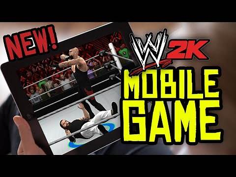 WWE 2K Mobile Game! Tutorial & First Impressions! (WWE 2K15 Mobile iPad/iPhone/Android)