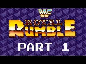 Let's Play WWF Royal Rumble, Part 1: Meet The Mega(Drive) Powers