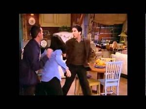 Friends - Ross Finds Out About Chandler and Monica