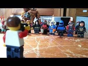 Lego Stop Motions: iCarly - iLegends Of Tomorrow 2 With Team JSA