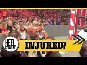 Cesaro Suffers Possible Injury During RAW