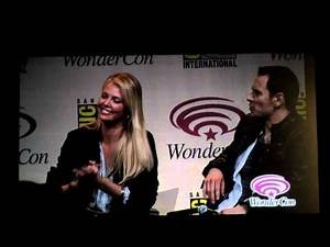 Wondercon 2012 Prometheus panel what does michael fassbender smell like Charlize Theron