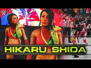 Hikaru Shida AEW 2020   New WWE 2K Game Mods