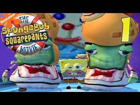 NO CHEESE!   SpongeBob SquarePants Movie Game   Ep. 1