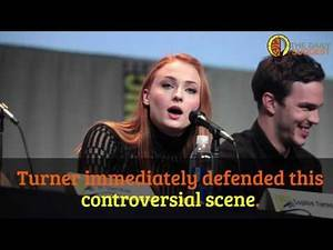 Sophie Turner Says She Got Sex Education From Game Of Thrones