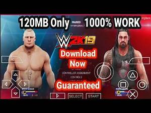 [120MB] wwe 2k19 ppsspp Android Highly Compressed