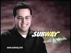 Jared 'Molestor' Fogle Subway Super Active 2000s Commercial (2003)
