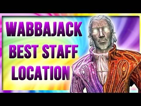 Skyrim Special Edition WABBAJACK Staff Location - The Mind of Madness All Daedric Artifact Locations