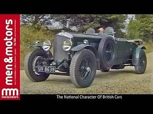 The National Character Of British Cars