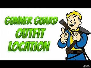 Fallout 4: Gunner Guard Outfit And Military Hat Location