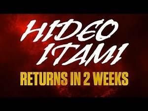 Hideo Itami returns in two weeks: WWE NXT, July 20, 2016