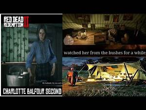 Red Dead Redemption 2: STRANGERS - The Annesburg Pervert/ Charlotte Balfour's Stalker
