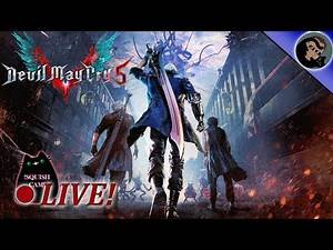 Devil May Cry 5 on PS4! EP4 Enter Dante!