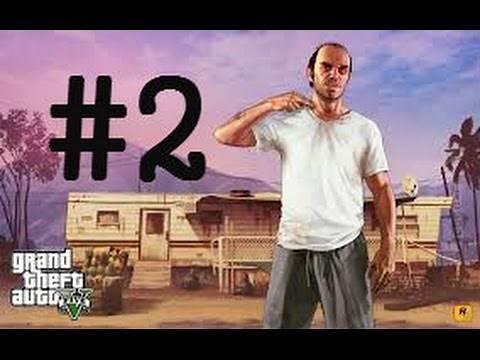 Gta 5 story mode mission unlocked the crazy guy (trevor) part 2